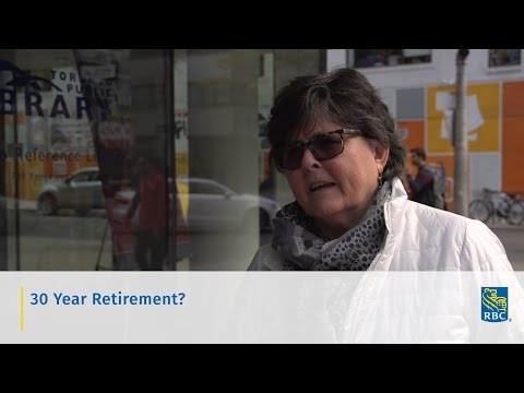 "Video: One in a series of ""Retirement: Real Talk"" videos posted on RBC's comprehensive new Retirement Hub, www.rbc.com/next30"