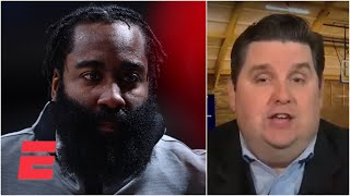 The Rockets were 'pissed off' about Daryl Morey's James Harden tweet - Brian Windhorst | KJZ