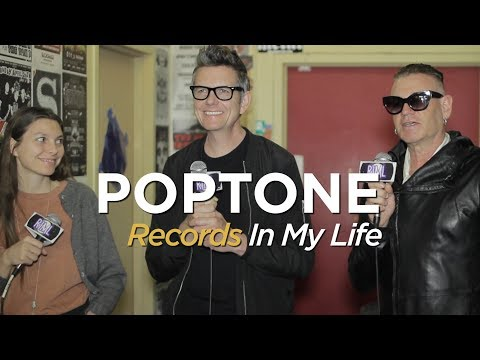 Poptone: Daniel Ash, Kevin Haskins, Diva on Records In My Life (2018 interview)