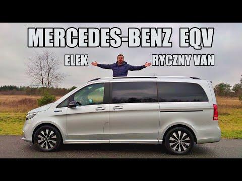 Mercedes-Benz EQV elektryczny van (PL) - test i jazda próbna
