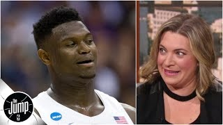 'No! Don't! Don't trade Zion!' - Ramona Shelburne on Knicks if they land No. 1 pick | The Jump