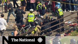 4 people shot during Raptors celebration