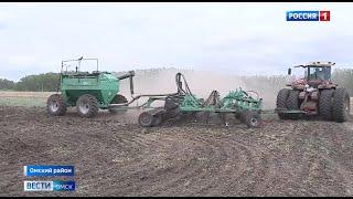 В Омской области заканчиваются весенне-полевые работы