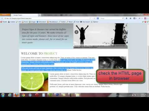 PSD to HTML5 Conversion Adding HTML5 Slider in a Web Page