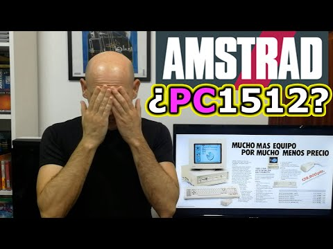 MONTANDO AMSTRAD PC ¿1512?