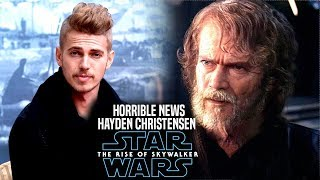 The Rise Of Skywalker Hayden Christensen Horrible News Revealed! (Star Wars Episode 9)