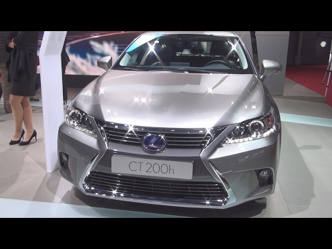 @Lexus CT 200h Premium Edition (2017) Exterior and Interior in 3D