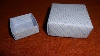 GẤP GIẤY - GẤP HỘP - HỘP QUÀ (ORIGAMI - PAPER BOX - GIFT BOX)- MỘC THẢO