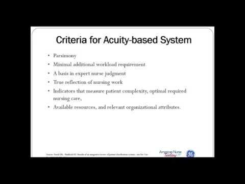 How Do I Create the Model for Acuity-Based Staffing?