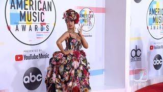 Cardi B and Offset hit the American Music Awards Red Carpet 2018 AMAs