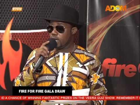 Live Draw of Fire 4 Fire Gala