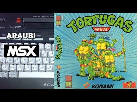 Teenage Mutant Hero Turtles (Image Works, 1990) MSX [180] El Kiosko