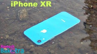 Apple iPhone XR Water Test