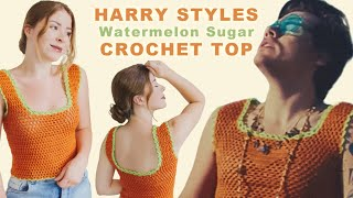 Watermelon Sugar - Harry Styles Inspired CROCHET Top