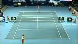 Maria Sharapova vs Daniela Hantuchova 2006 Zurich Highlights