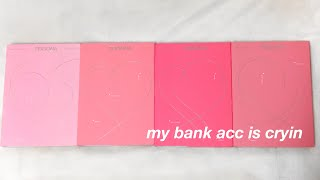 bts map of the soul persona album unboxing