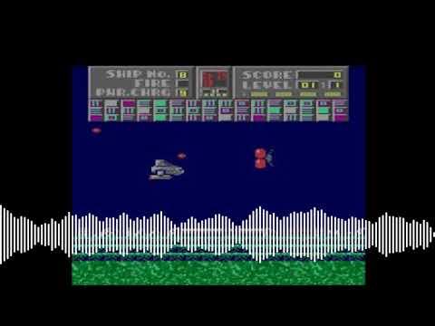 Intro de The Extirpator! para computadoras Atari 8-bits