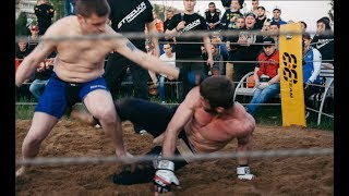 REAL MAN  VS. MMA Fighter !!! Crazy Fight !!!