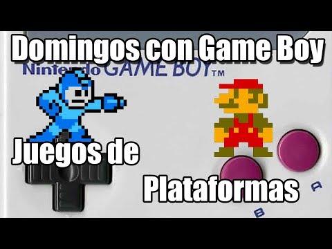 Domingos con GAME BOY: Especial Juegos de Plataformas. Con Elric y Retroabuelo