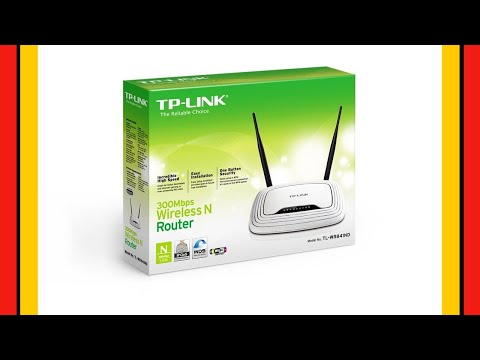 📶 ROUTER WIFI Tp-Link WR841ND 300 mbps