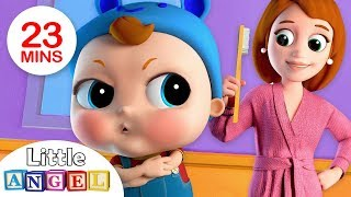 No No, Baby Wants The Big Boy Brush | Nursery Rhymes by Little Angel