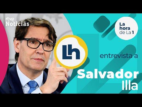 «Las vacunas van a permitir pasar a un estadio distinto de la pandemia» asegura SALVADOR ILLA | RTVE