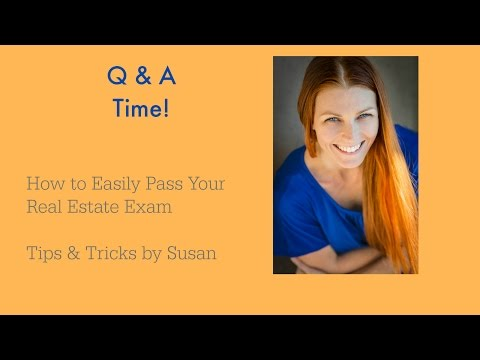 How to Easily Pass Your Real Estate Exam