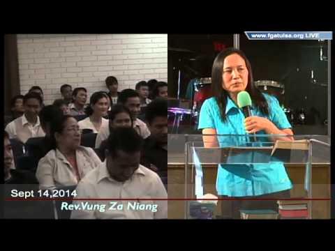 [FGATulsa]#1046#Sept 14,2014 Zomi Service (Pastor Vung Niang