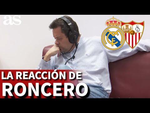 R.Madrid 2-Sevilla 2   Roncero, tenso: su reacción al ver como el Madrid no depende de sí mismo