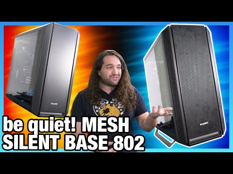 be quiet! Silent Base 802 Case Review: Extremely Good Mechanical Design