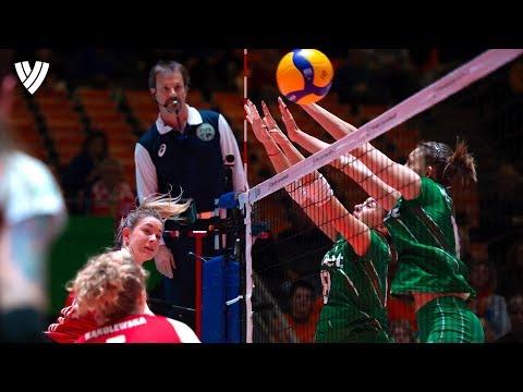 Impressive Monster Blocks | CEV Women's Tokyo Volleyball Qualification 2020