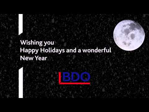 Happy Holidays from BDO