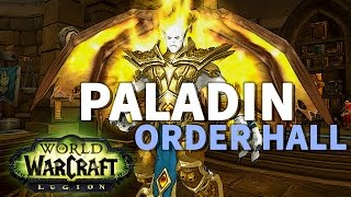 A Light in the Darkness WoW Legion Paladin Final Scenario