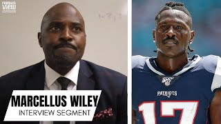 Marcellus Wiley on Antonio Brown Saga in Oakland & New England - Will AB Play in the NFL Again?