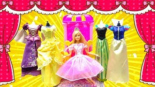 Barbie Sugarplum Princess Dancing Doll Dress Up Disney Princess Dresses Morning for Dance Party
