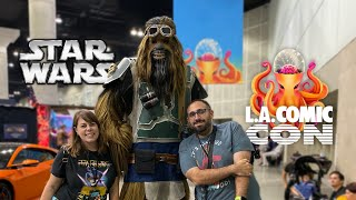 Searching for Star Wars at LA Comic Con