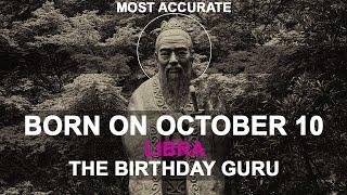 Born on October 10 | Birthday | #aboutyourbirthday | Sample