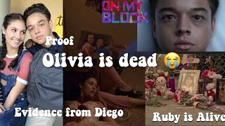 Proof Olivia is Dead On My Block (WITH RECEIPTS FROM ACTORS)