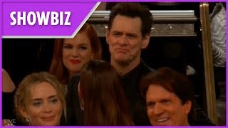 Jim Carrey Gets 'kicked Out' Of Golden Globes In Funny Skit