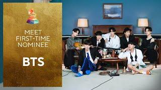 BTS | Meet The First-Time GRAMMY Nominees
