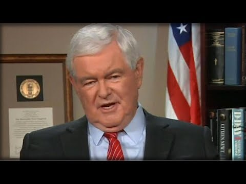NEWT GINGRICH BRINGS HILLARY TO HER KNEES WITH SHOCKING PREDICTION THAT WILL SINK HER