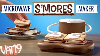 Microwave S'mores Maker: Perfect s'mores in 30 seconds!