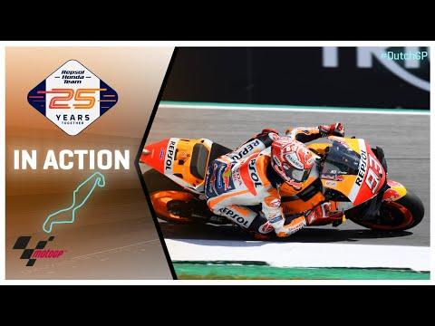 Honda in action: Motul TT Assen