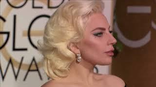 Lady Gaga Fashion - Golden Globes 2016