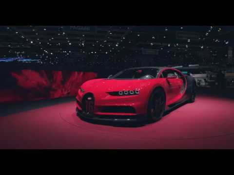Bugatti at Geneva International Motor Show 2018 ? World Premiere of the Chiron Sport