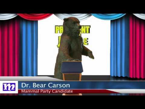 Bear's Speech   President of the Jungle 2017   MMNN Newsbreak   Many Miniatures Theater