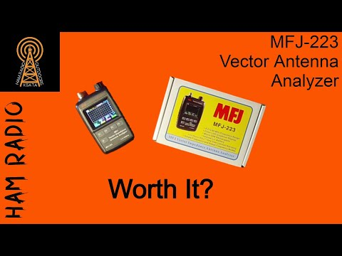 MFJ 223 Vector Impedance Antenna Analyzer