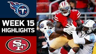 Titans vs. 49ers | NFL Week 15 Game Highlights