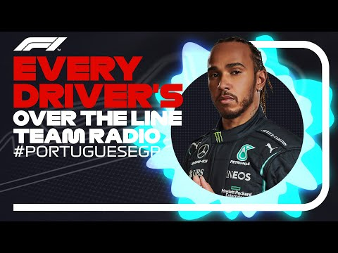 Every Driver's Radio At The End Of Their Race - 2021 Portuguese Grand Prix