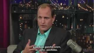 Woody Harrelson no Late Show, 2009 [LEGENDADO]